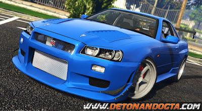 GTA V - Nissan Skyline GT-R 34 C-West 1999