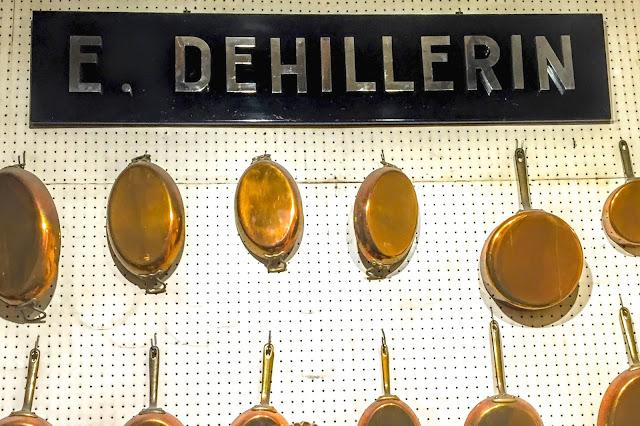 E. Dehillerin Copper Cookware