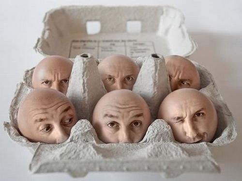 manipulasi kepala telur