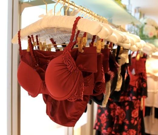 lingerie shop short story piece