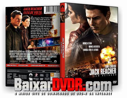Jack Reacher Sem Retorno (2016) DVD-R OFICIAL