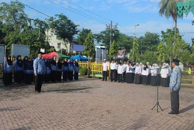 Kemenag Tanjungbalai Laksanakan Upacara Peringatan Hari Lahir Pancasila