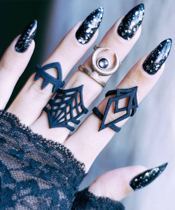 Six nail Art idea for special ocassions