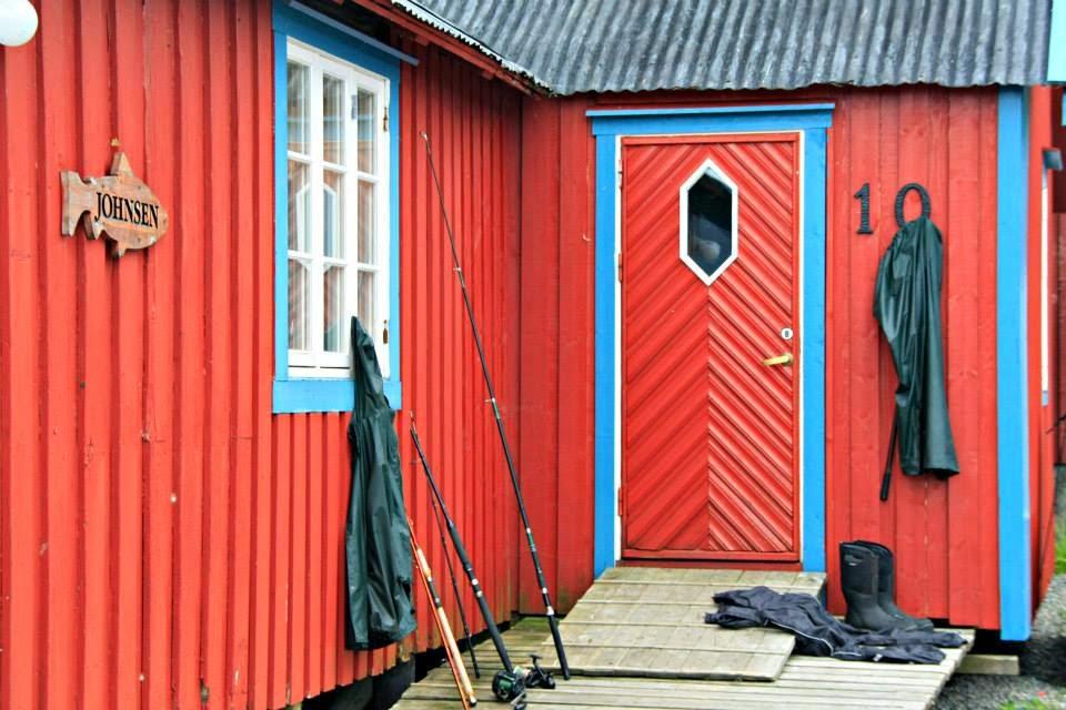 Rorbuer en Islas Lofoten.