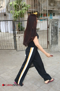 Bollywood Actress Sonali Bendre Spotted in Tracksuit at Spa  0005.jpg