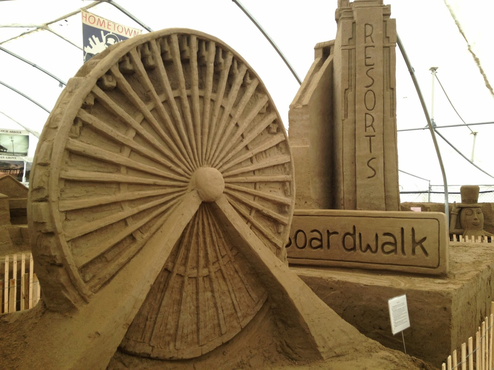 Seaside Park - Sand Sculpture Museum