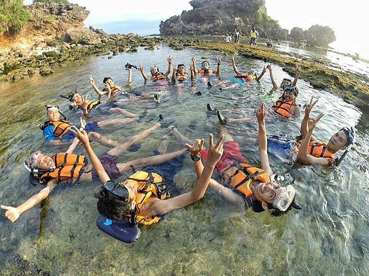 Pantai Nglambor Spot Terbaik Untuk Snorkeling Di Jogja Update Pengetahuanmu