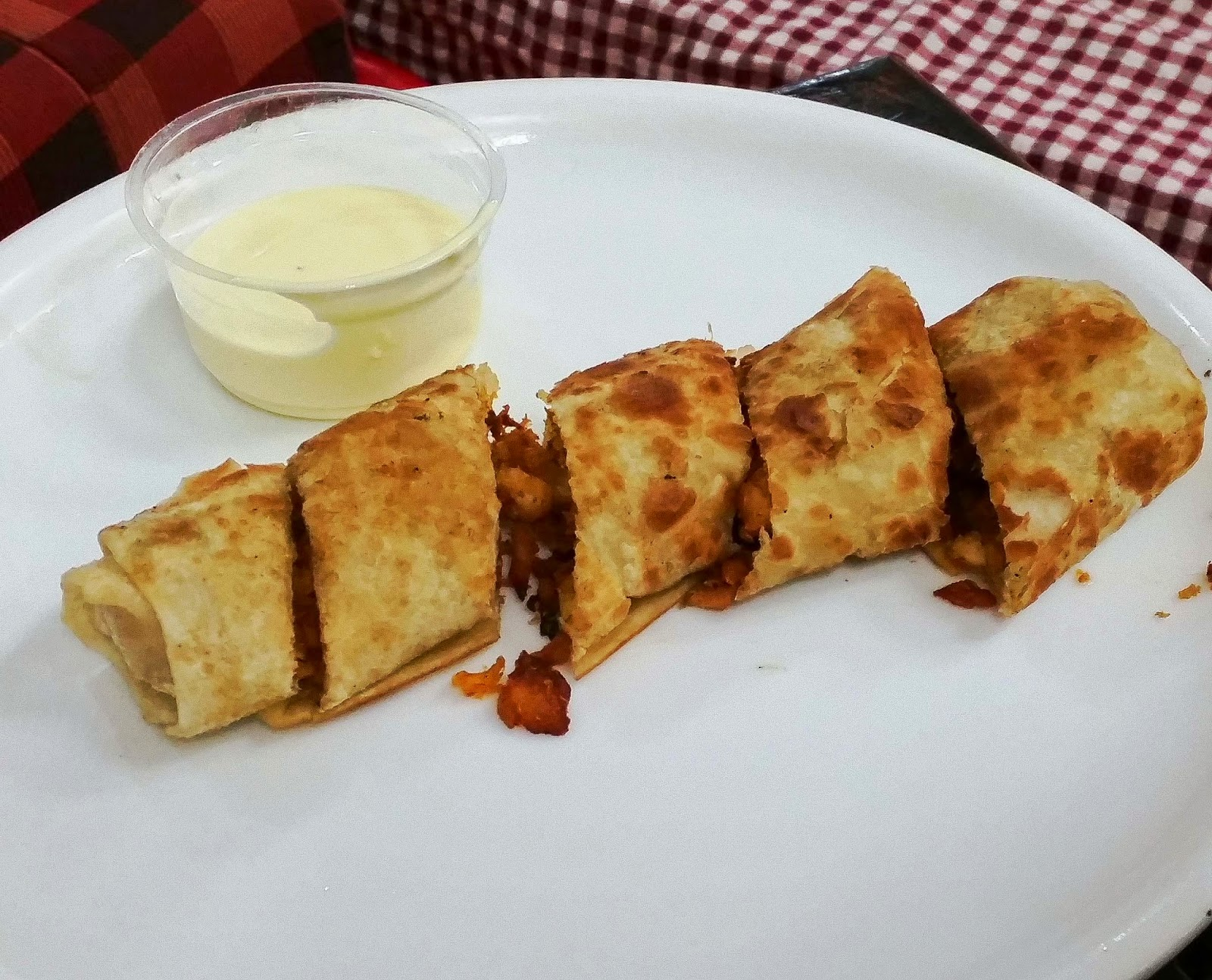 Arabic fried shawarma