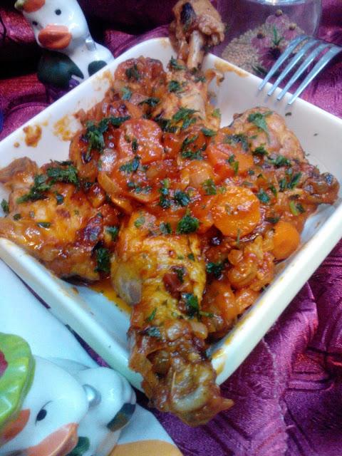 Piletina sa šargarepom