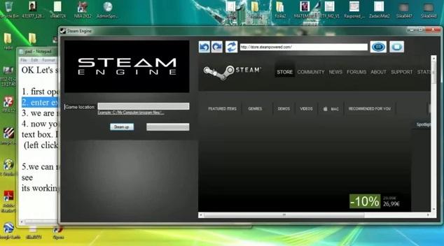 Steam Hack Keygen (AUGUST 2012) Unlock All Games (Keygen