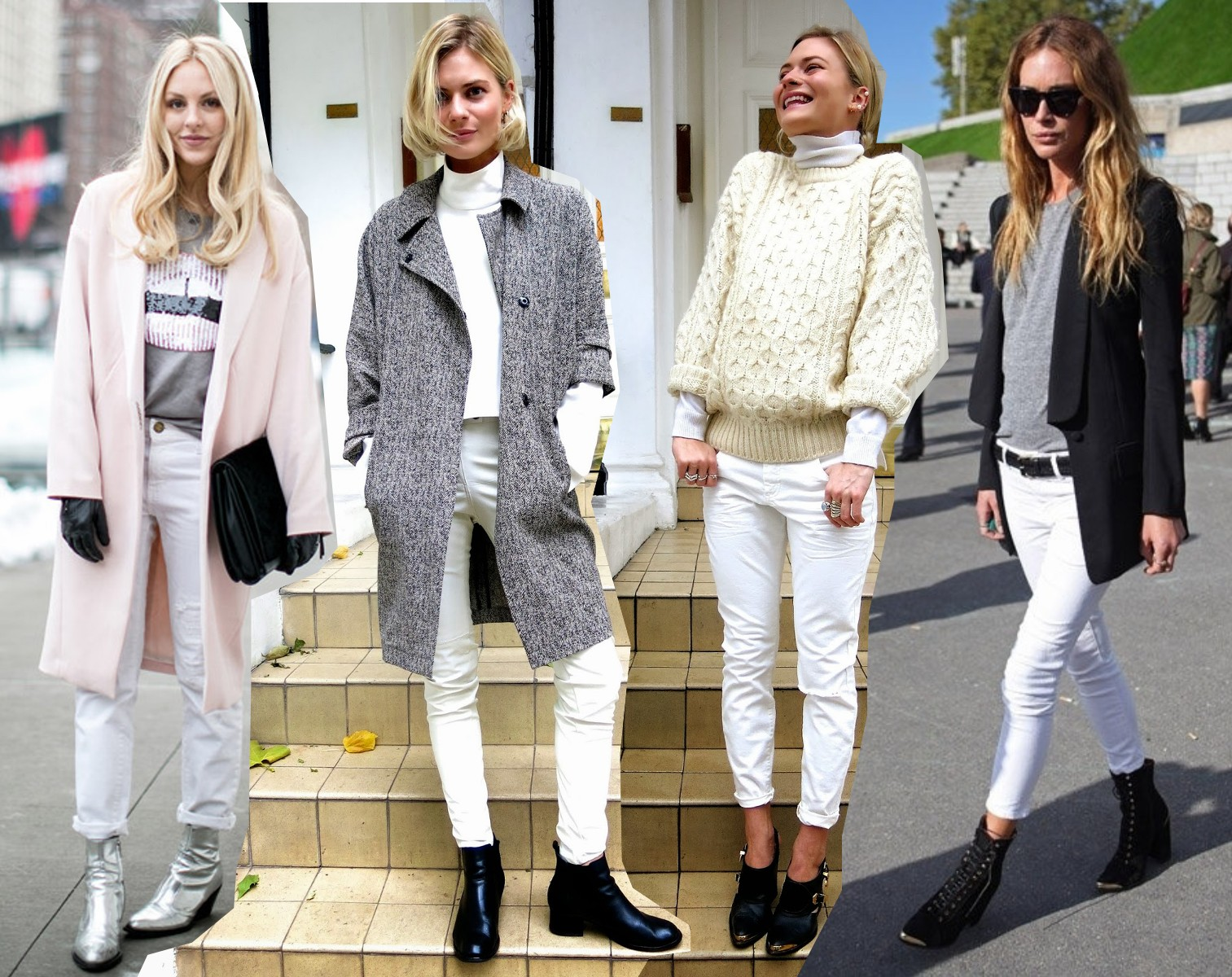 Ways To Wear White Jeans Outfits StreetStyle