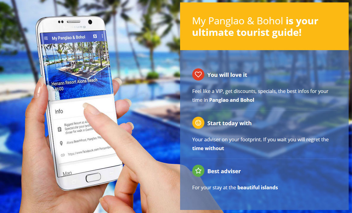 Bohol Tourist Guide App