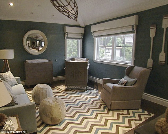 Baby Duke Rancic's Nursery