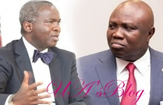 Panic In Fashola's Camp As Buhari 'Anoints' Ambode As Minister ...You Wonder Why?
