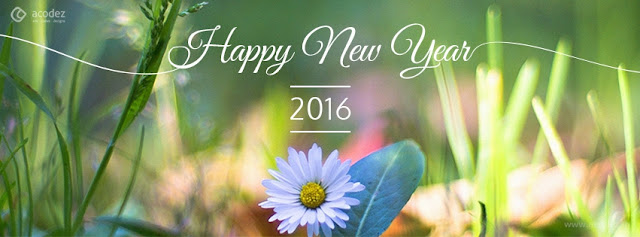 Nature New Year Wishes Cover Photo for facebook timeline and twitter image