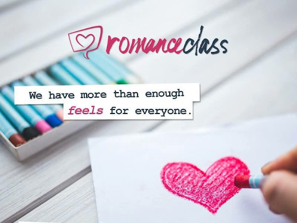 #romanceclass at Komiket