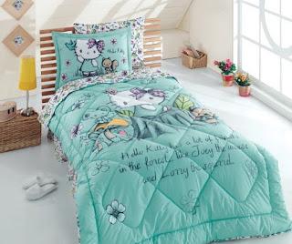 Hello Kitty Spring Tek Kişilik Uyku Seti
