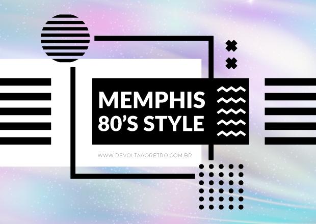 80's style Memphis