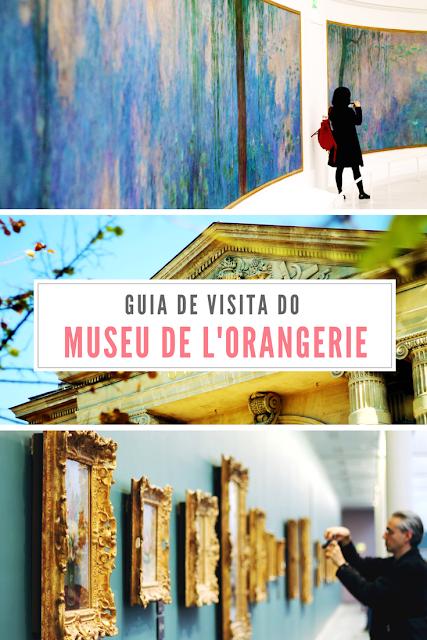 Guia de visita do Museu de l'Orangerie em Paris