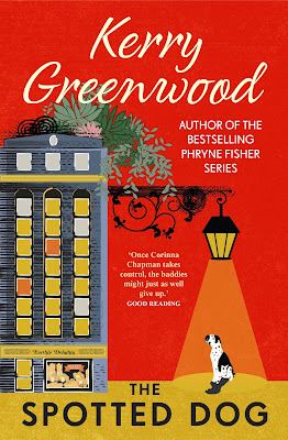 The Spotted Dog by Kerry Greenwood (Corinna Chapman series) book cover