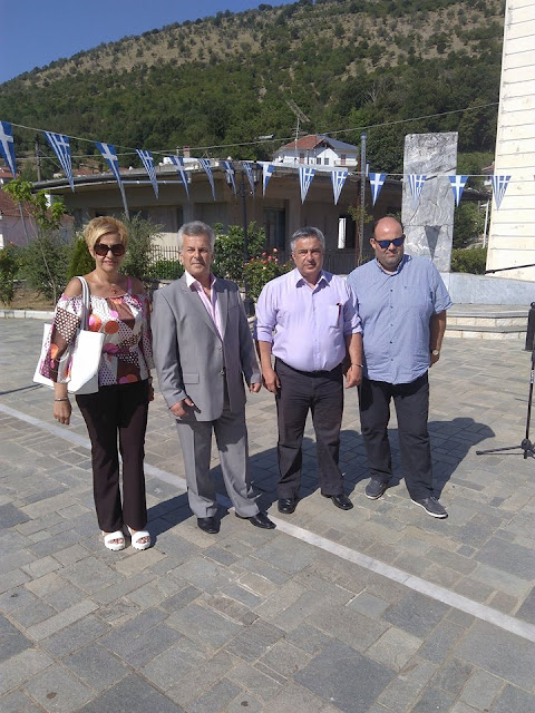 Γιάννενα: Εκπρόσωποι Των ΑΝΕΛ Στις Εκδηλώσεις Μνήμης Και Τιμής Στο Κεφαλόβρυσο