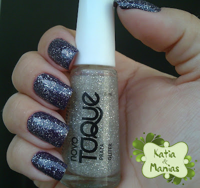 Novo Toque, glitter, DRK Nails,