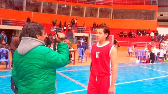 Tarija logró oro en básquet varones