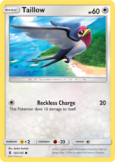 Taillow Guardians Rising Pokemon Card