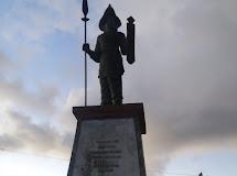 Koramil 07 , Shabandar, masyarakat Miangas, laksanakan kegiatan kerja bhakti
