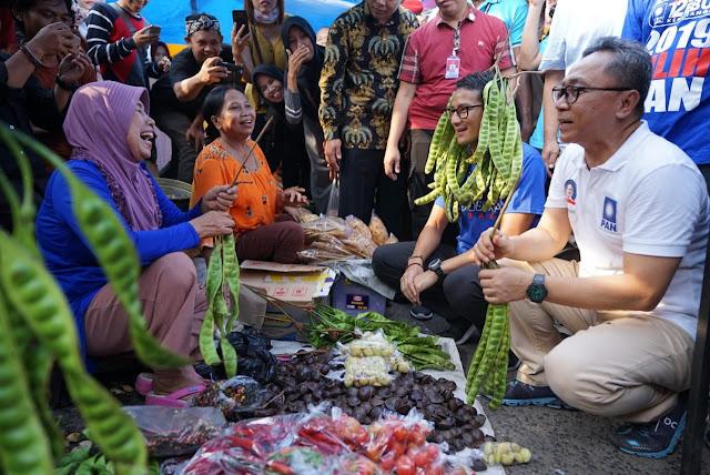 Pedagang Pasar Subang Keluhkan Sepinya Pembeli ke Sandi