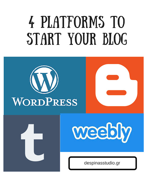4 platforms to start your blog - Where to start ?