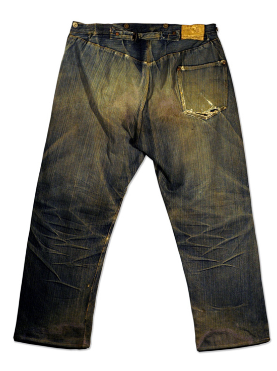 The first model of Levi's jeans
