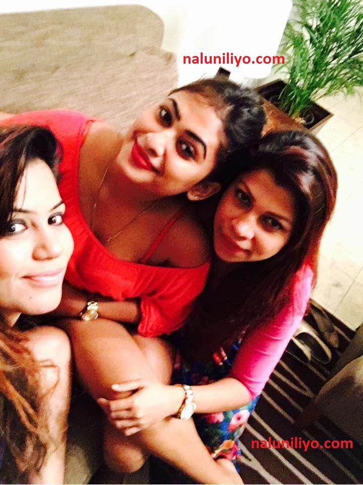 Piumi Hansamali friends new hot