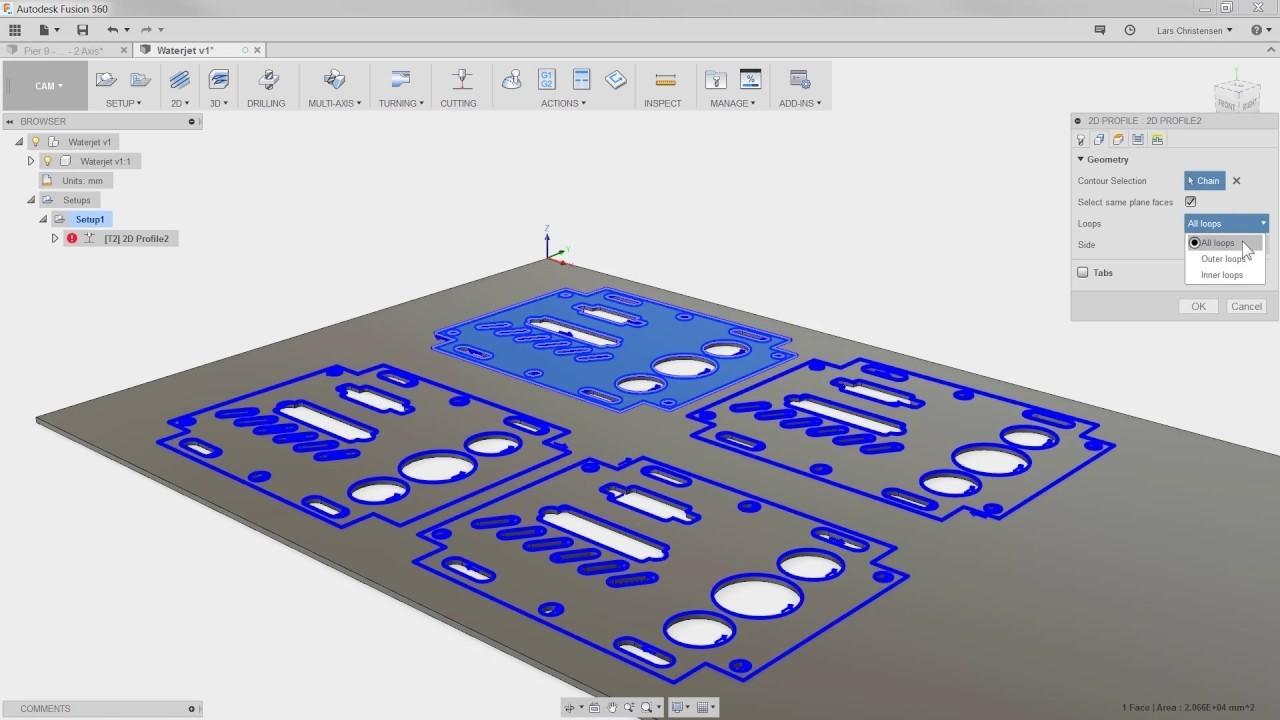 programacion autodesk hsm maquinas de corte cnc