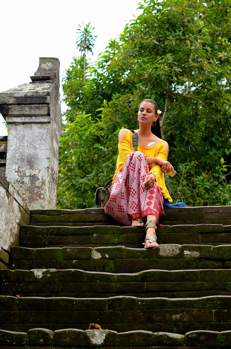 Tamara Chloé, sarong, Indonesia, bali, Ubud, Tc Style Clues