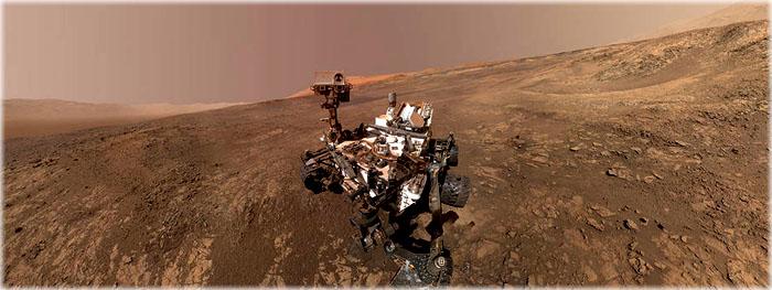 robô curiosity faz descoberta em Marte - revelação ao vivo
