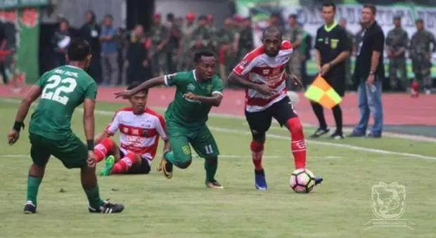 Hasil Madura United vs Persebaya Surabaya 2-2 Liga 1 Jumat 25 Mei 2018