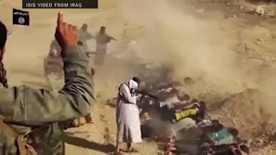 1,700 soldiers were massacred at Camp Speicher by ISIS militants.
