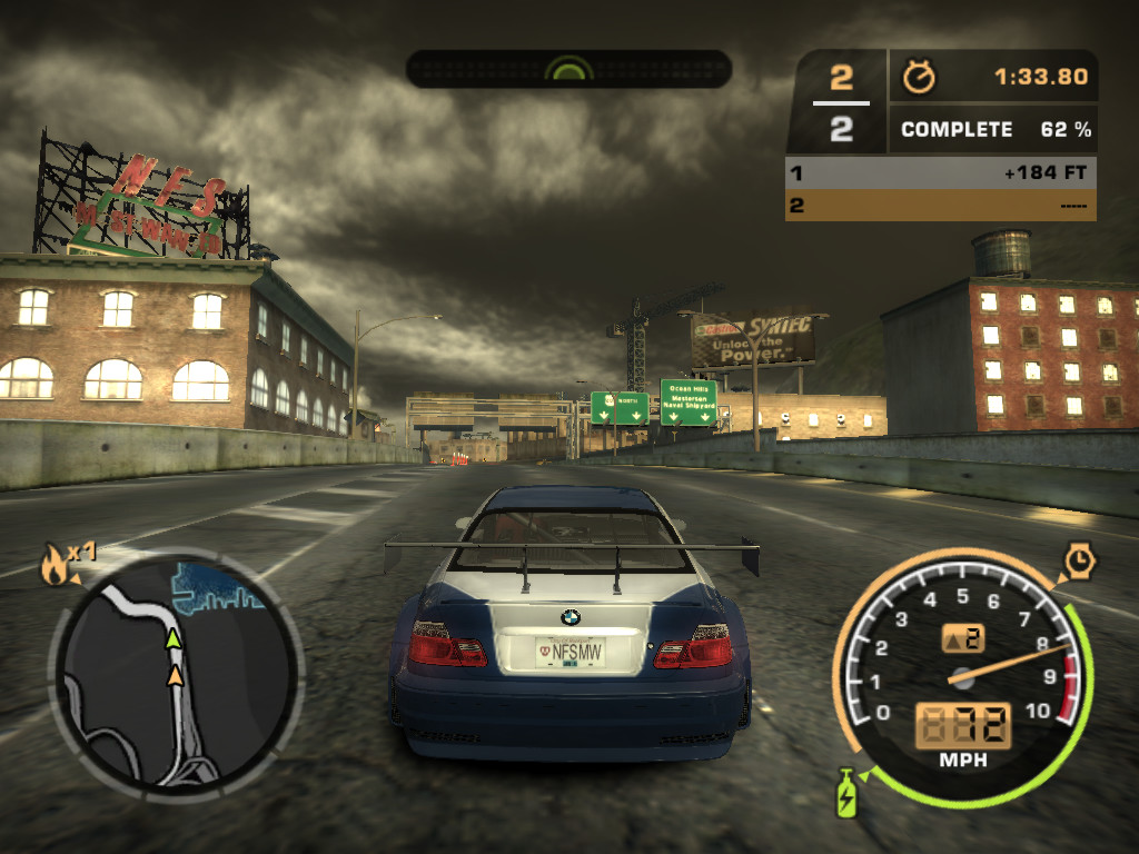 Need for Speed Most Wanted Black Edition v13  скачать