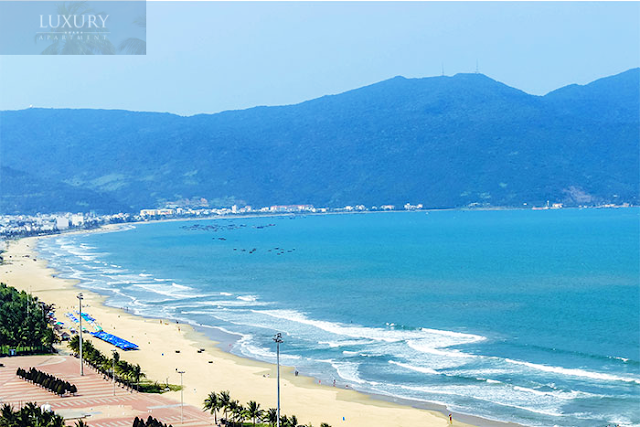 Dự án Luxury nằm trên mặt biển Mỹ Khê