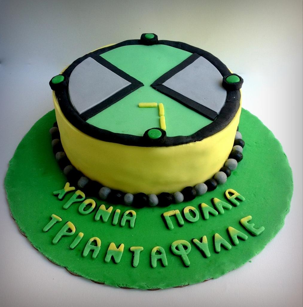 HEARTCORE: BEN10 Birthday Cake