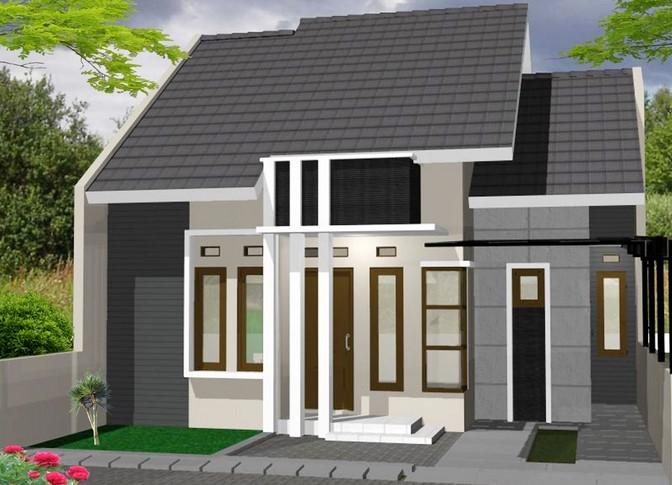 50+ Contoh rumah minimalis tampak depan