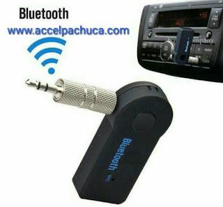 Transmisor receptor de audio vía bluetooth con auxiliar 3.5 mm
