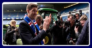 Steven Gerrard says Rangers must thrive under pressure at Ibrox