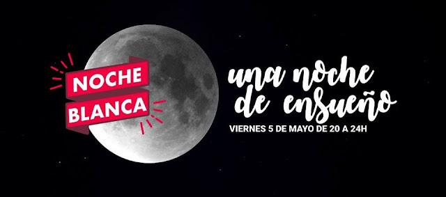 Noche Blanca Coruña 2017. Viernes 5 de mayo