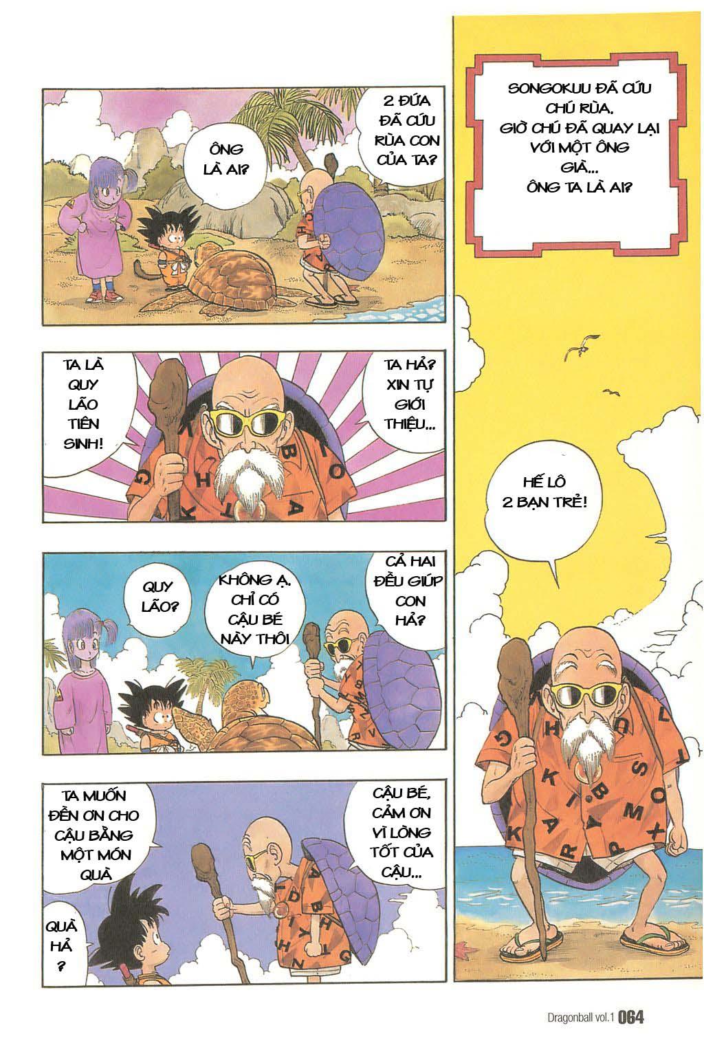 Dragon Ball chap 4 trang 2