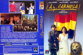 Carátula dvd: ¡Ay, Carmela! (1990)