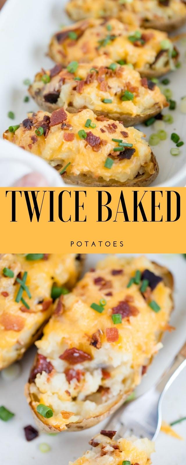 Twice Baked Potatoes Recipes