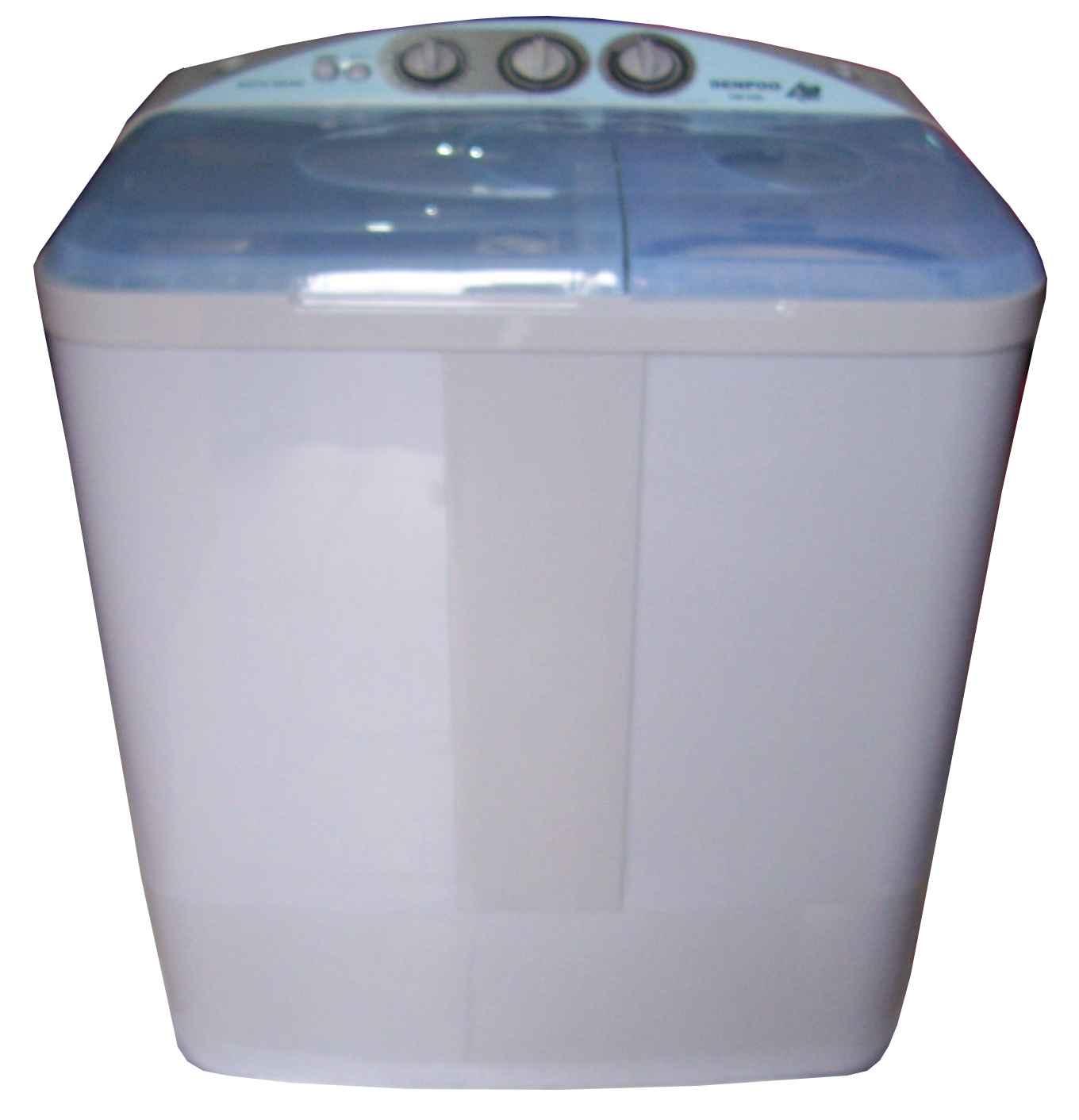 mesin cuci dua tabung analog