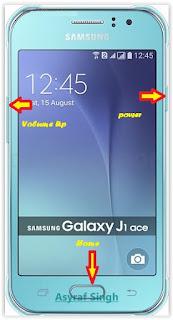 Samsung Galaxy J1 Ace By Perform Hard Reset